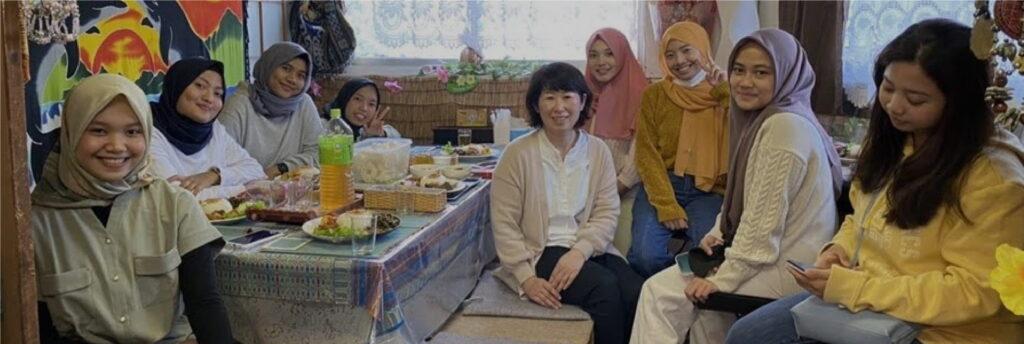プロフ写真、日本語教師
